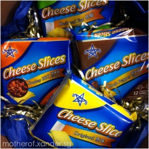 SCS cheese in 4 different flavours