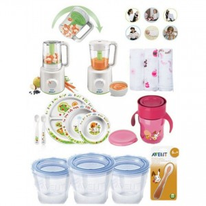 philips-avent combined steamer blender value pack