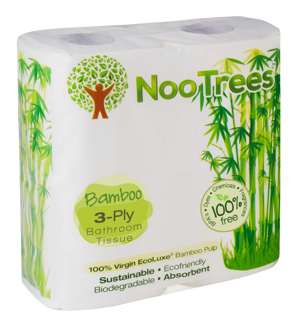 NooTrees Eco-luxe© pack toilet roll 1